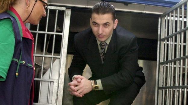 Domenico S. wurde 1998 als letzter der Posträuber gefasst.