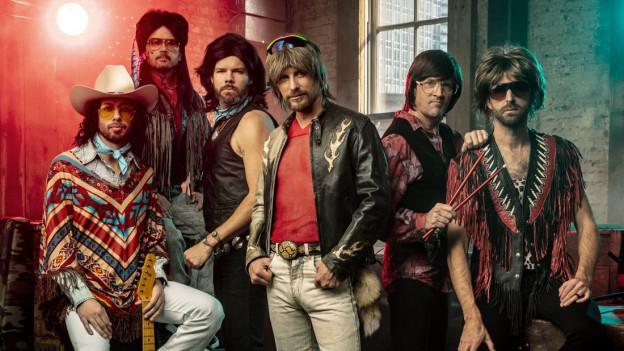 """Werden immer beliebter, die """"Hot Country Knights"""" um Leader Dierks Bentley (Mitte)"""