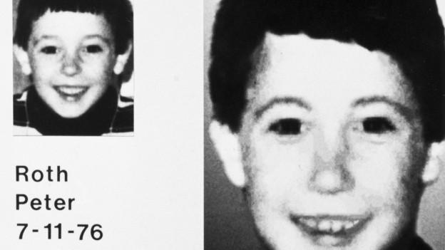 In den Achzigern verschwinden in der Schweiz mehrere Kinder, darunter Peter Roth.