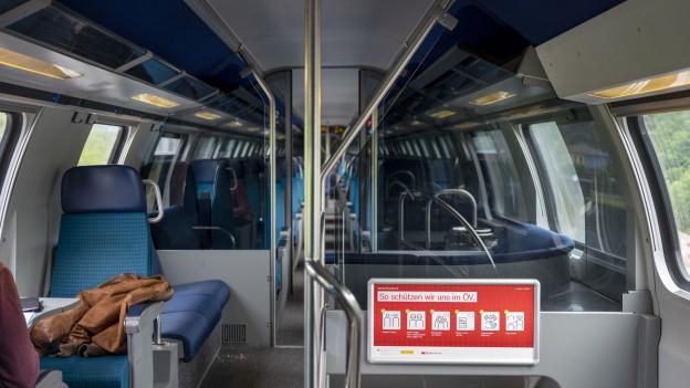 Die Passagierzahlen im ÖV erholen sich nur langsam.