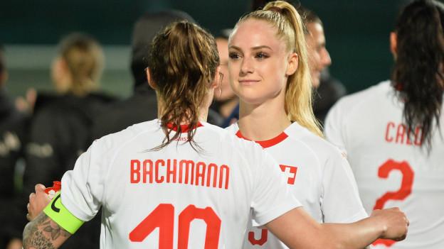 Ramona Bachmann und Alisha Lehmann