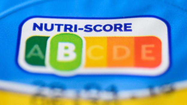 Die neue Lebensmittelampel Nutri-Score.