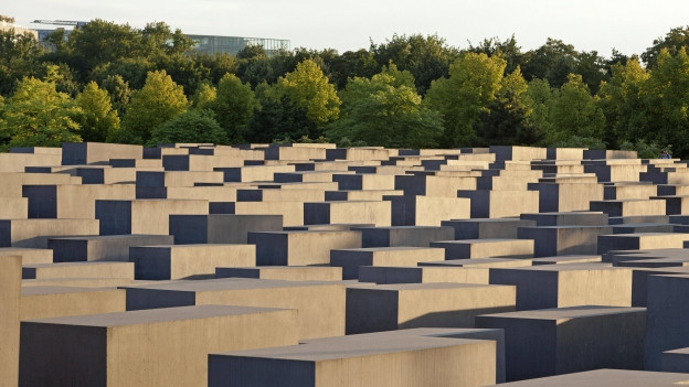 Das Holocaust-Denkmal in Berlin