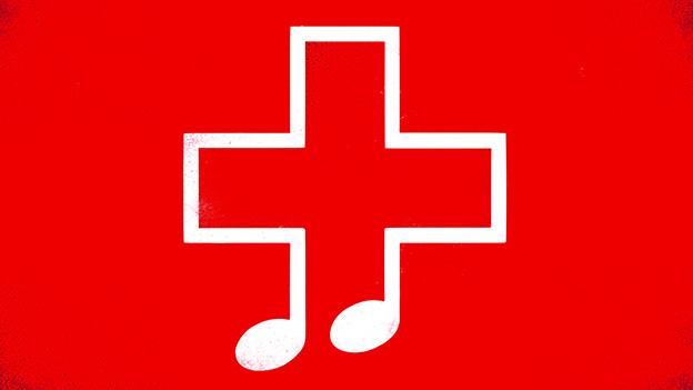 Symbol auf Rot