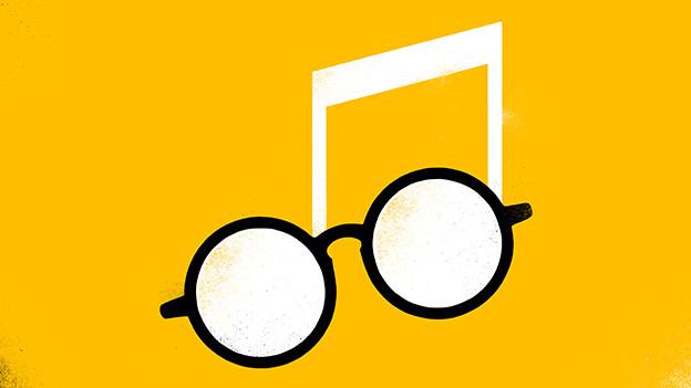 Symbol auf Gelb
