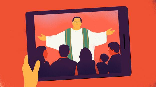 Predigt auf Rot
