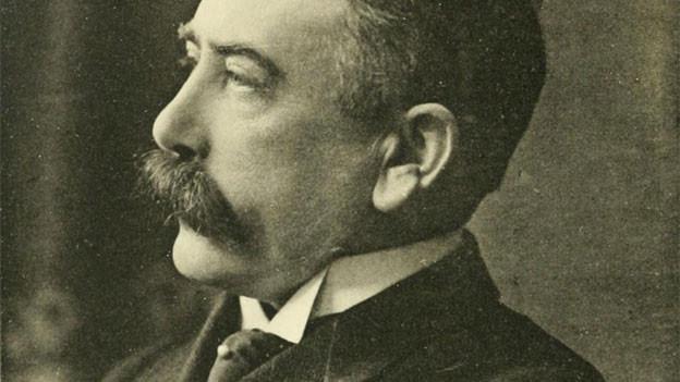 Ferdinand de Saussure war ein Schweizer Sprachwissenschaftler aus Genf.