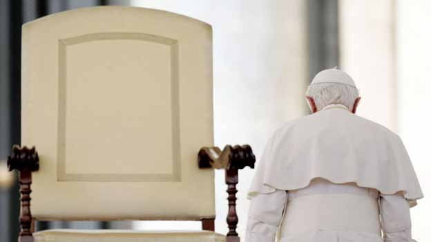 Hat im Zweifelsfall das letzte Wort: Der Papst.