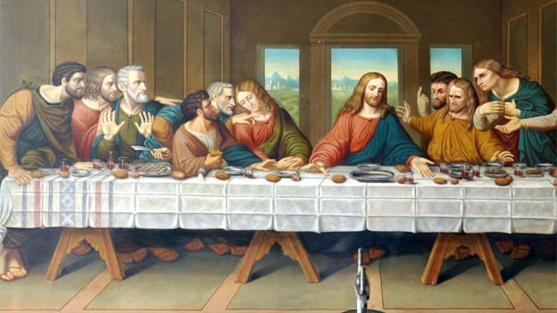 Das Abendmahl ist für alle da.