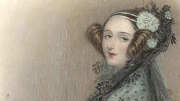 Portrait von Ada Lovelace (1838).