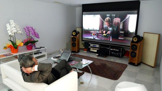 Der Fernsehkonsum verändert sich.