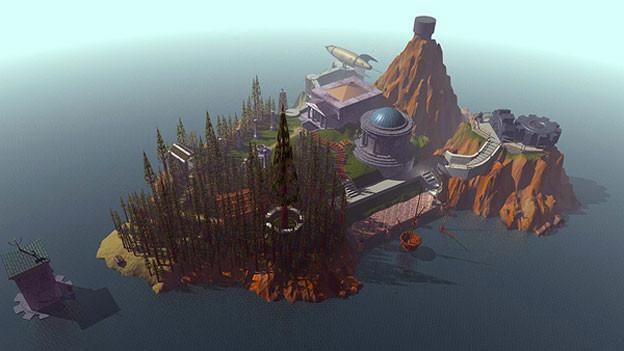 Myst war weit mehr als ein Spiel: Mit seinen fotorealistischen Grafiken war es 1993 eine computertechnische Sensation.