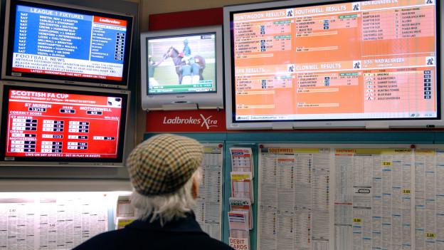 Wetten ist Big Business: der englische Anbieter Ladbrokes.