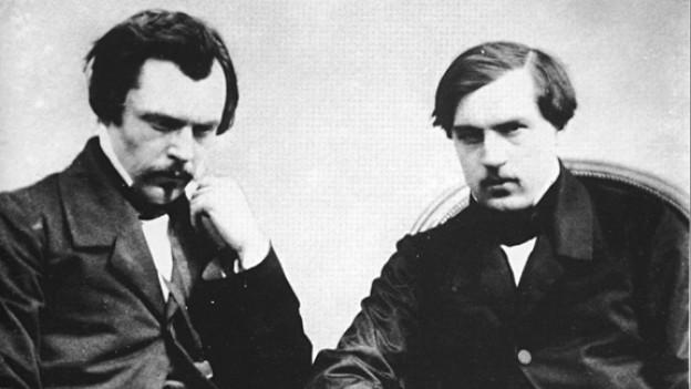 Edmond und Jules de Goncourt.