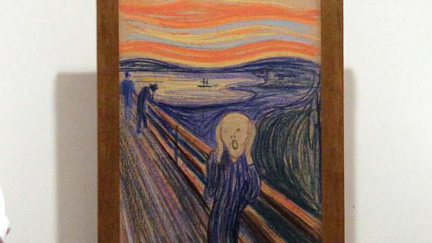Edvard Munchs «Der Schrei».