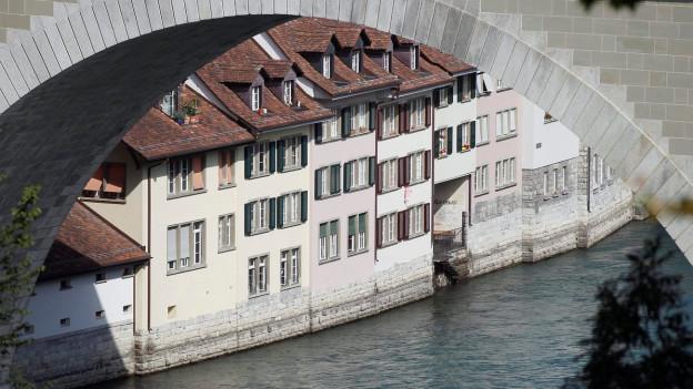 Das Berner Mattenquartier.