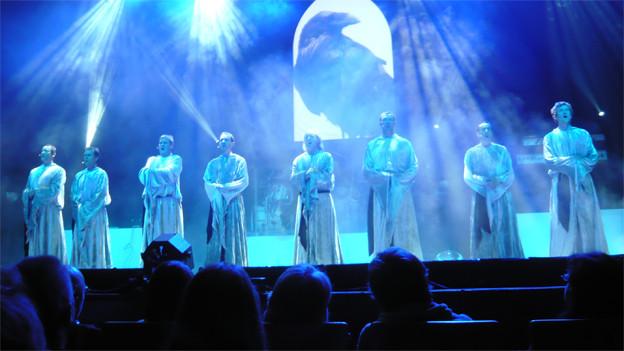 Die Gruppe «Gregorien» feiert mit ihrem Gregorianik-Pop grosse Erfolge.