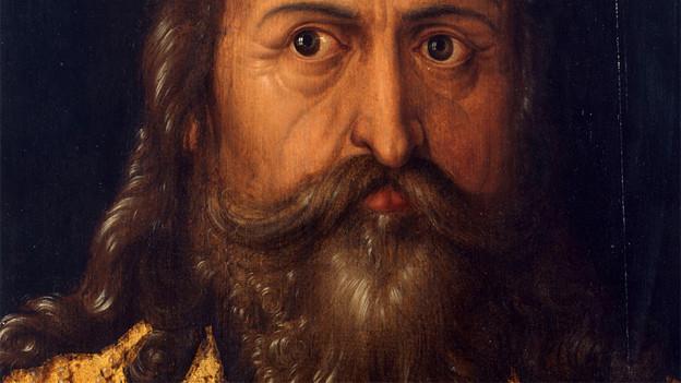 Idealbild Karls des grossen aus der Albrecht-Dürer-Werkstatt, 1514.