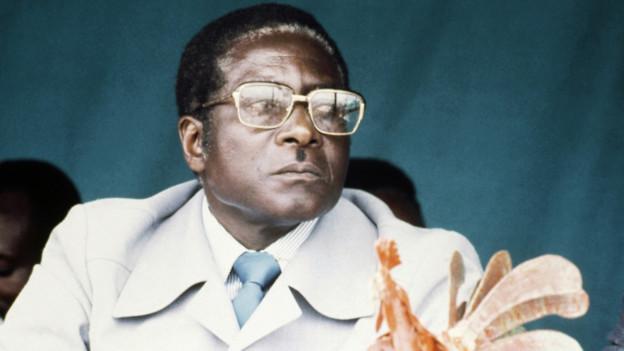 Robert Mugabe 1981.
