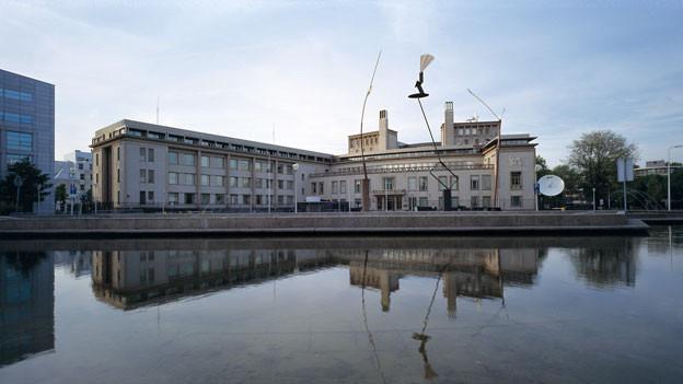 Das Gebäude des Kriegsverbrechertribunals