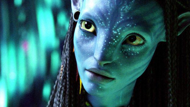 Die Figur Neytiri in James Camerons Kassenschlager «Avatar».