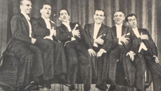 Rein singen und gut zuhören: die Comedian Harmonists.