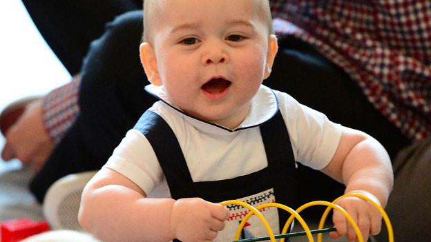 Prinz George während des Besuchs in Australien und Neuseeland, April 2014.