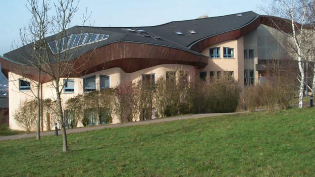 Waldorfschule Trier von aussen.