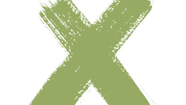 Der Buchstabe X