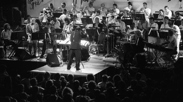 Big Band am Soirée Quincy Jones in Montreux (1994).
