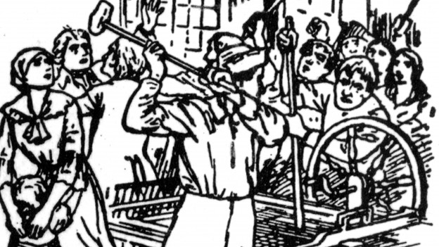 Lidditen hatten etwas gegen Baumwoll-Spinnereien.
