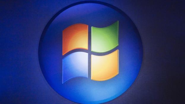 Das farbige Logo von Microsoft.