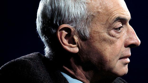 Saul Bellow, der 1976 den Literaturnobelpreis gewann, in einem Porträt von 1977.