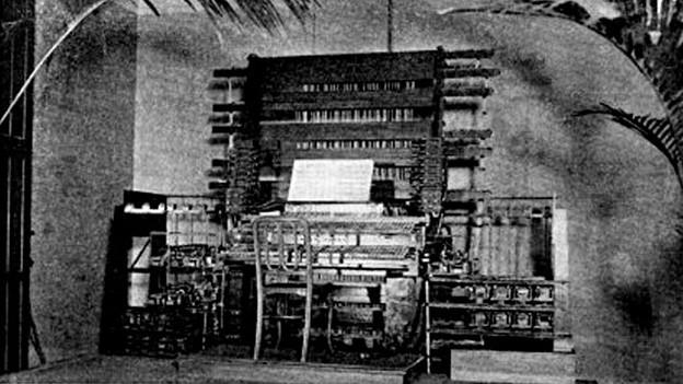 Telharmonium von Thaddeus Cahill, 1897.