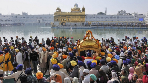 Das heilige Buch des Guru Granth Sahib