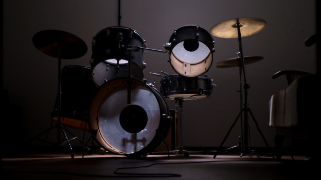 Ein Schlagzeug