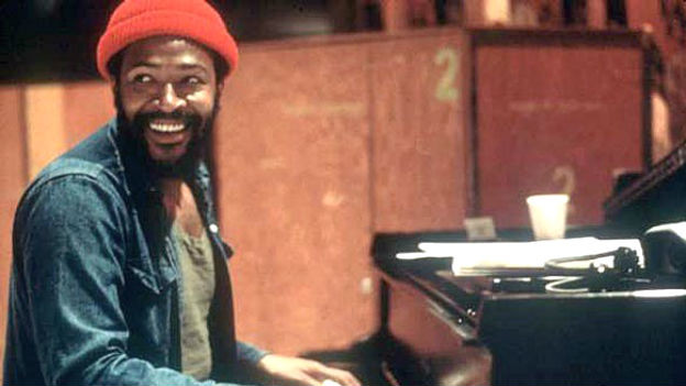 Marvin Gaye am Klavier.