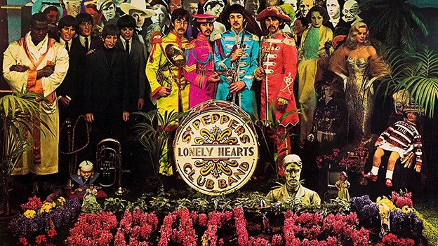 Das Cover von «St. Pepper's Lonely Hearts Club Band».