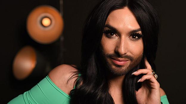 Eurovision Song Contest-Gewinnerin Conchita Wurst, April 2015.