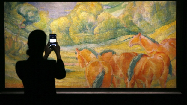 Das Werk Grosse Landschaft von Franz Marc wird auf 5 bis 8 Millionen Franken geschätzt.