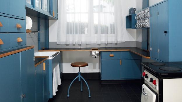 the frankfurter k che. Black Bedroom Furniture Sets. Home Design Ideas