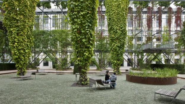 Der MFO Park in Zürich.