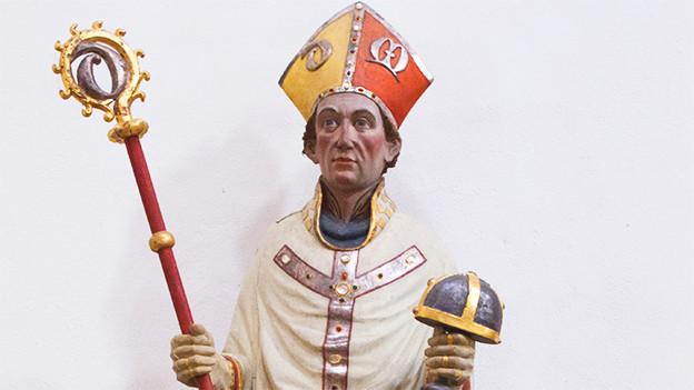 Statue von Bischof Godehard