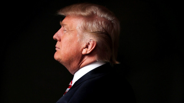 Trump von der Seite