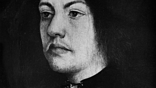 Martin Schongauer im Porträt.