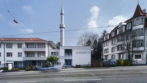 Die Mahmud-Moschee in Zürich.