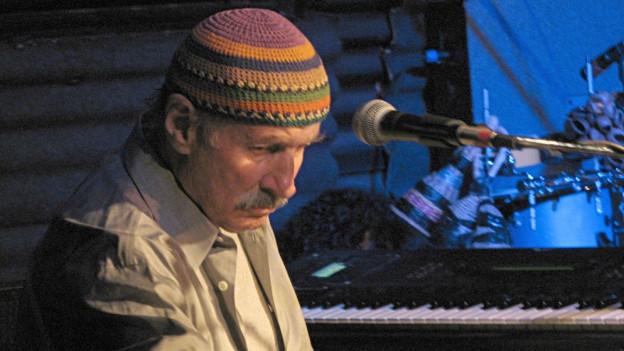 Mann mit Hütchen: Jazzmusiker Joe Zawinul.