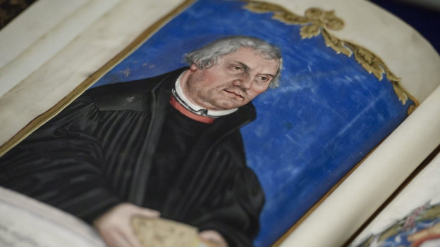 Vater der Reform: Martin Luther.