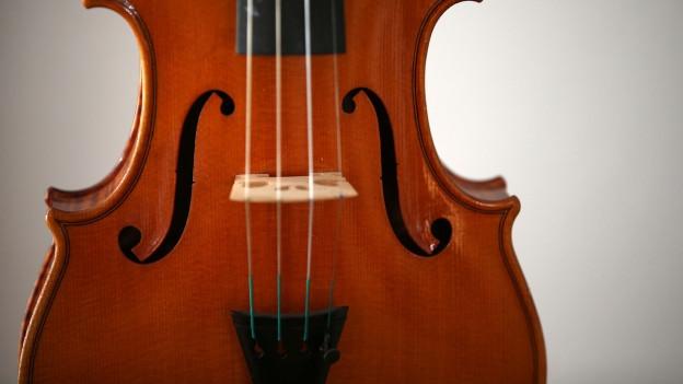 Eine Geige.