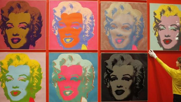 Marilyn Monroes Lächeln